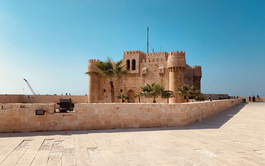 Summer destinations in Egypt Alexandria