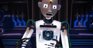 A human like robot is someone to talk to at this cool Belfast Museum