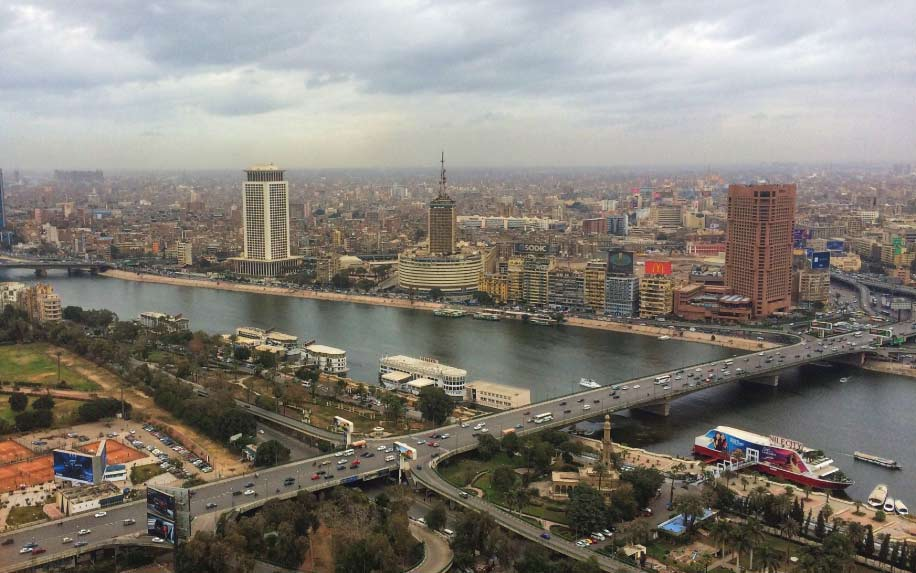 Cairo skyline khedivial Cairo