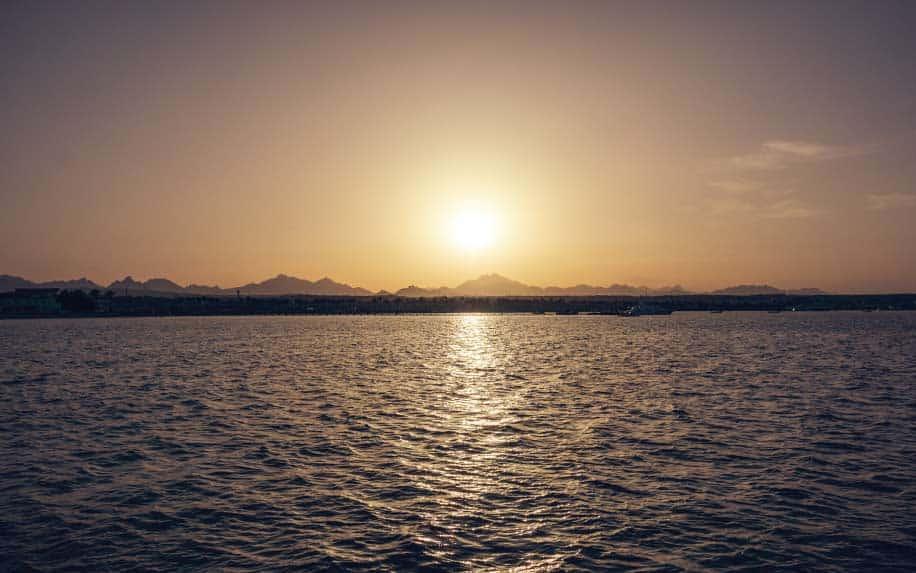 Ras sadr sunset