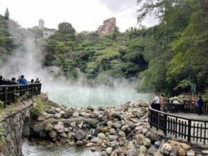Hot Springs in Beitou Taiwan